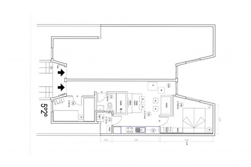 Cool Jazz 52 Apartment - Apartment in Barcelona für 5 Personen
