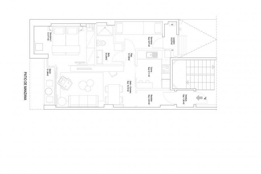 Hot Jazz 32 Apartment - Apartment in Barcelona für 5 Personen