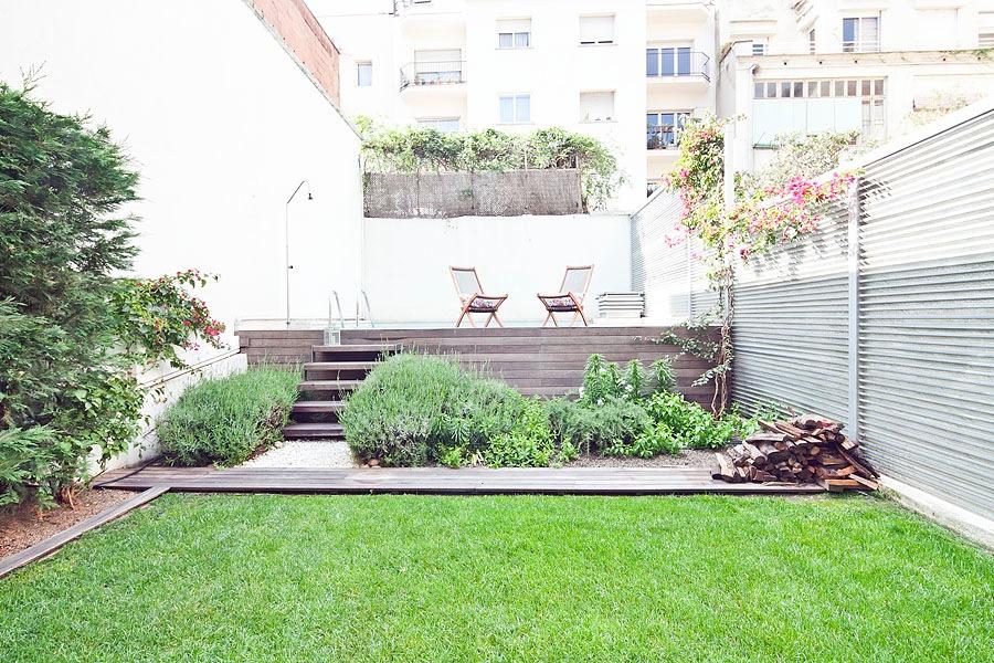summer garden ii apartment apartment in barcelona for 6 people - Apartment Garden