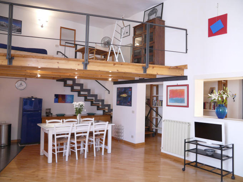 Trastevere Attic Apartment