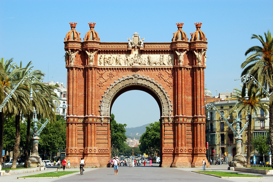 Image result for 2. Arc de Triomf, Barcelona, Spain