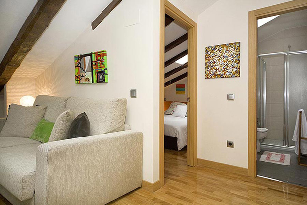 Attic Madrid apartment in Madrid