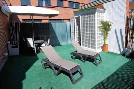 attic monumental apartment madrid relax b Escapada romántica a Madrid con Habitat apartments!