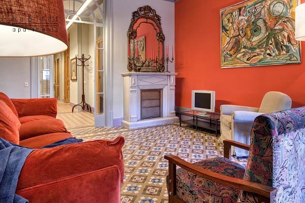 balmes apartment barcelona living b Balmes apartments in Barcelona
