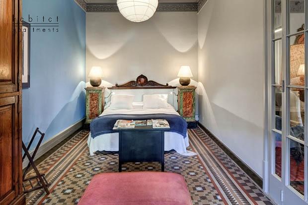 balmes apartment barcelona master bedroom b Balmes apartments in Barcelona
