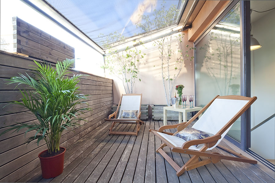 Bonanova attic apartment monthly apartment rental in for The terrace apartments