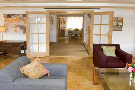 canal penthouse amsterdam lounge b Habitat apartments the best location in Amsterdam