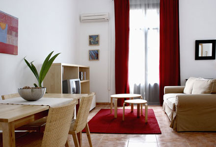 colom 1 apartment barri gotic colom1 2 5 Appartements au centre de Barcelona!Colon Appartements.