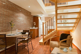 Arc de Triomf Mini Duplex apartment