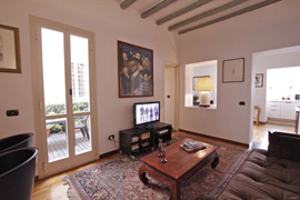Corso Classic Terrace Apartment