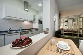 Gran Via 2B apartment, Madrid