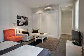Gran Via 4C appartement
