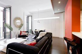 Appartement Latina Black
