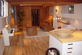 Lounge Boat apartment