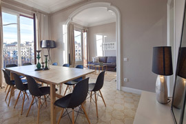 Great and cozy apartment in Barcelona ideal for 9 people