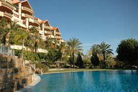 big pool in Marbella apartments