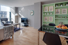 Great apartment in Barcelona ideal for 6 people in Rambla Catalunya