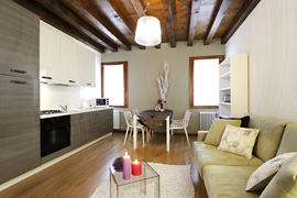 Beautiful designer apartment in Venice located in the historical center