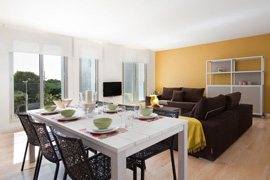 Appartement Lugaris Beach Family