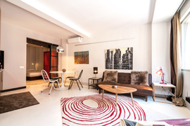 one bedroom apartment located in the vibrant Chueca district of Madrid
