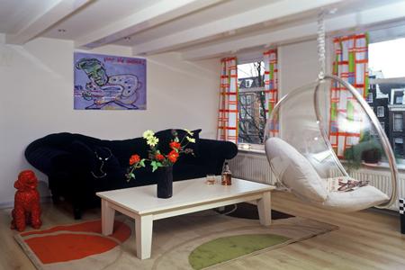 emperor4 amsterdam livingroom b Habitat apartments the best location in Amsterdam