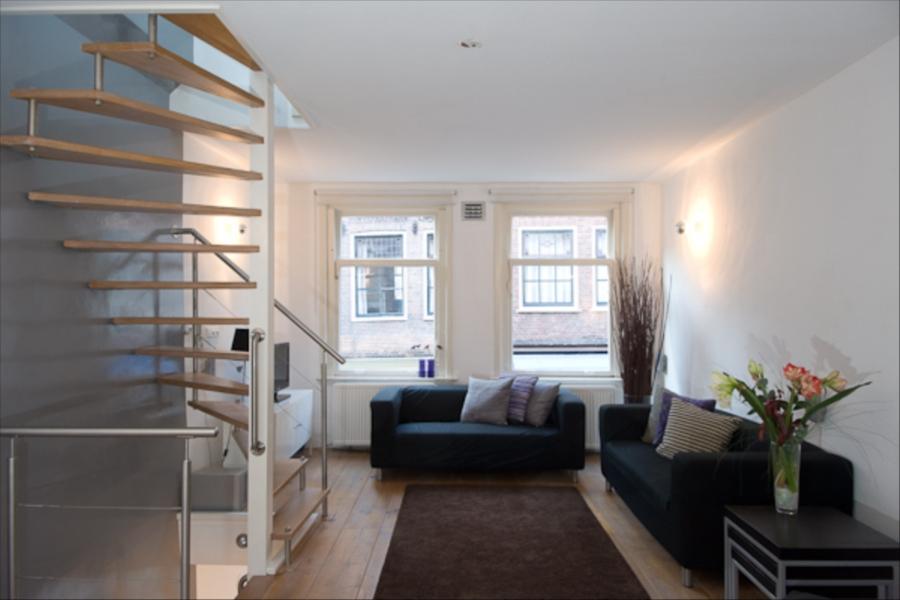 Appartamento jordaan appartamento in amsterdam per 6 persone for Design apartment jordaan amsterdam
