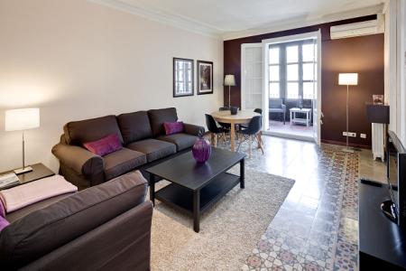 lauria apartment 2a barcelona living b Nuevo apartamento en Barcelona