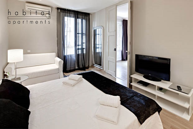 Lauria Suites apartment in Barcelona