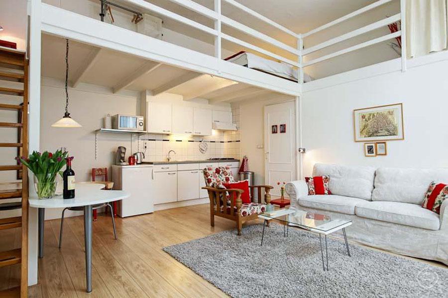 Appartamento de waag loft appartamento in amsterdam per for Piani loft appartamento