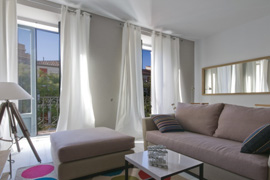 bright apartment in Madrid very central