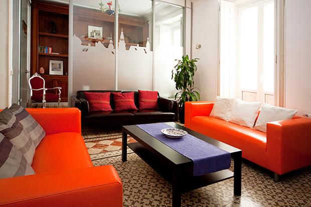 molino living room madrid a b The Escorial apartment – Madrid