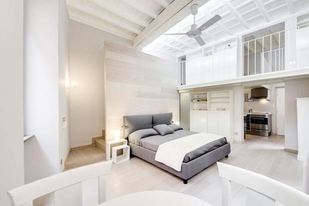 montecitorio loft apartment rome atmosphere b Montecitorio Loft apartment in Rome