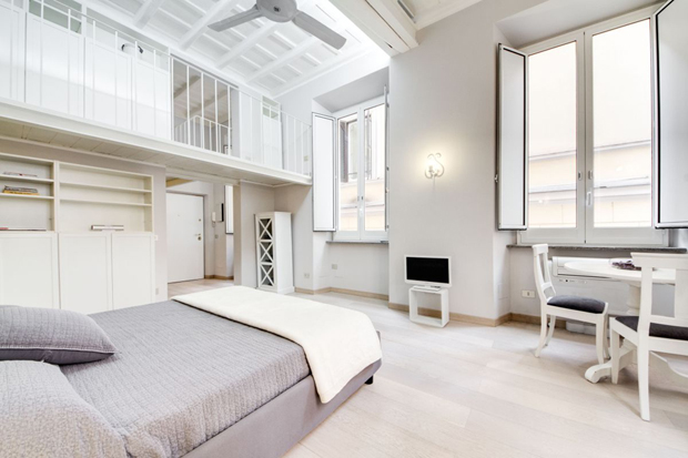 montecitorio loft apartment rome room b Montecitorio Loft apartment in Rome