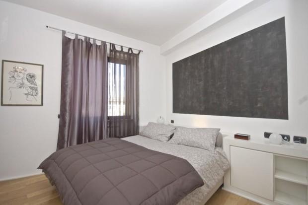 pineto attic apartment rome bedroom b The Pineto Attic apartment   Rome