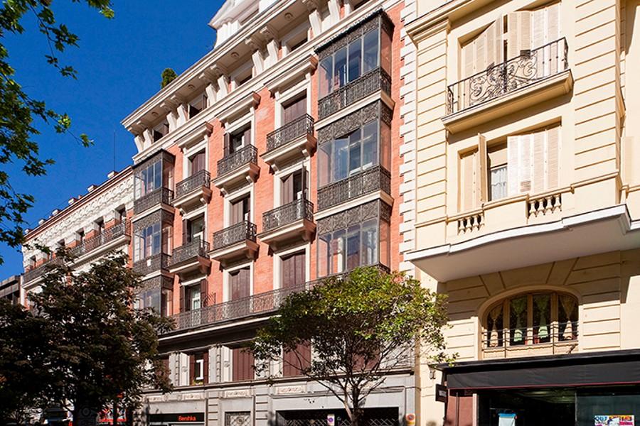 Room Gran Via Apartments Madrid