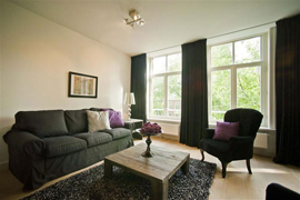 Stylishly decorated two bedroom mdoern apartment in Amsterdam.
