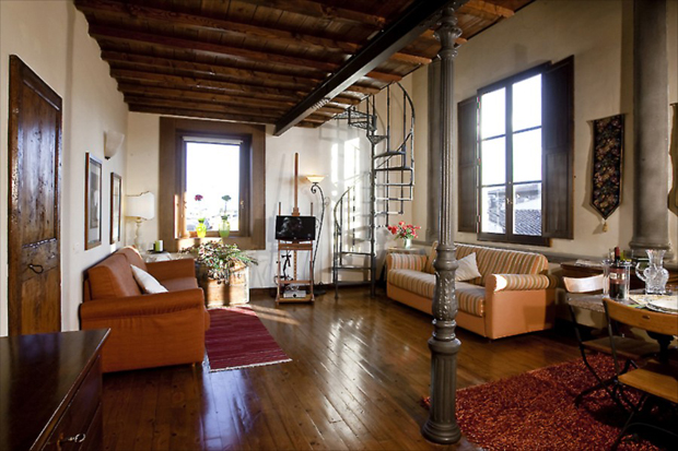 Signoria View Apartment in Florence