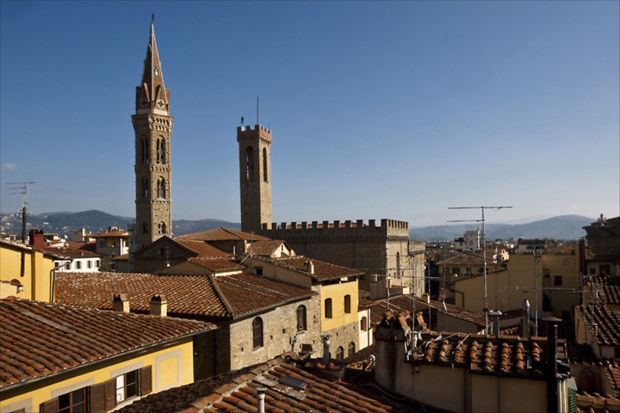 signoria view florence apartment view a b The Signoria View apartment – Florence
