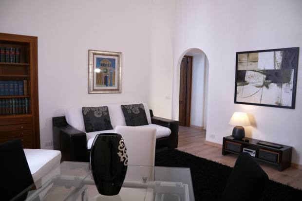 spagna apartment rome sitting area a b Spagna apartment in Rome