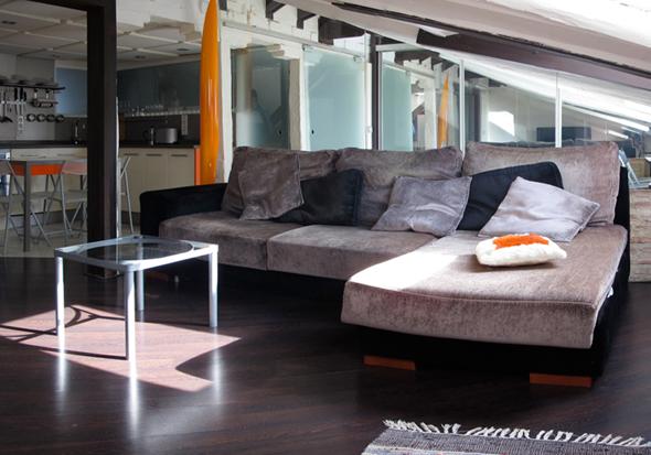 spanish attic barcelona apartment living b Spanish Attic apartment – Madrid