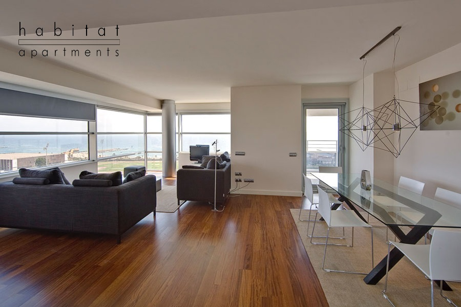 Vista apartment in Barcelona