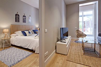 Apartments with four bedrooms