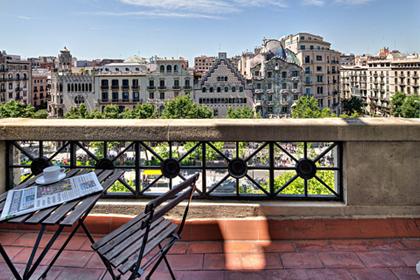 Appartementen dicht bij Casa Batlló en La Pedrera
