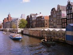 Amsterdam principali posti da visitare bloemenmarkt for Vendita appartamenti amsterdam