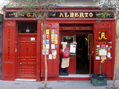 Selezione di bar e resaturantes in diversi quartieri di Madrid