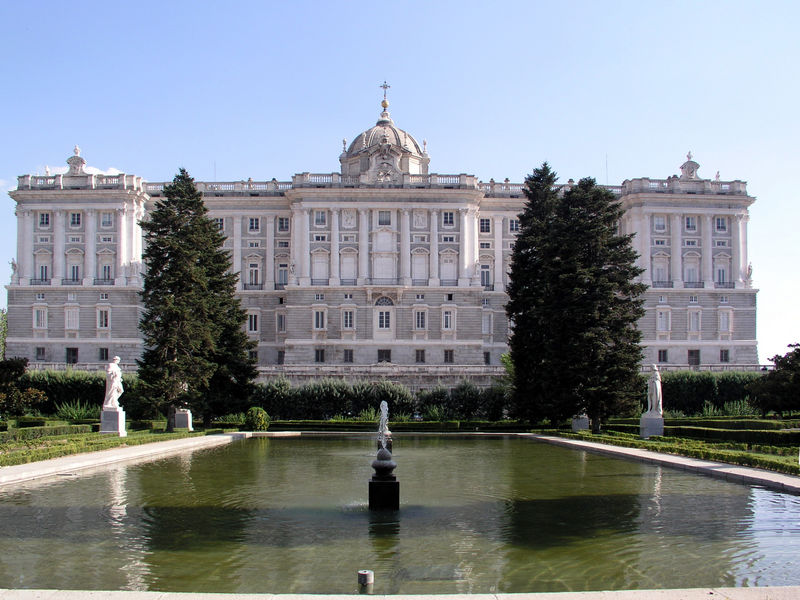 Le Palais Royal, Madrid