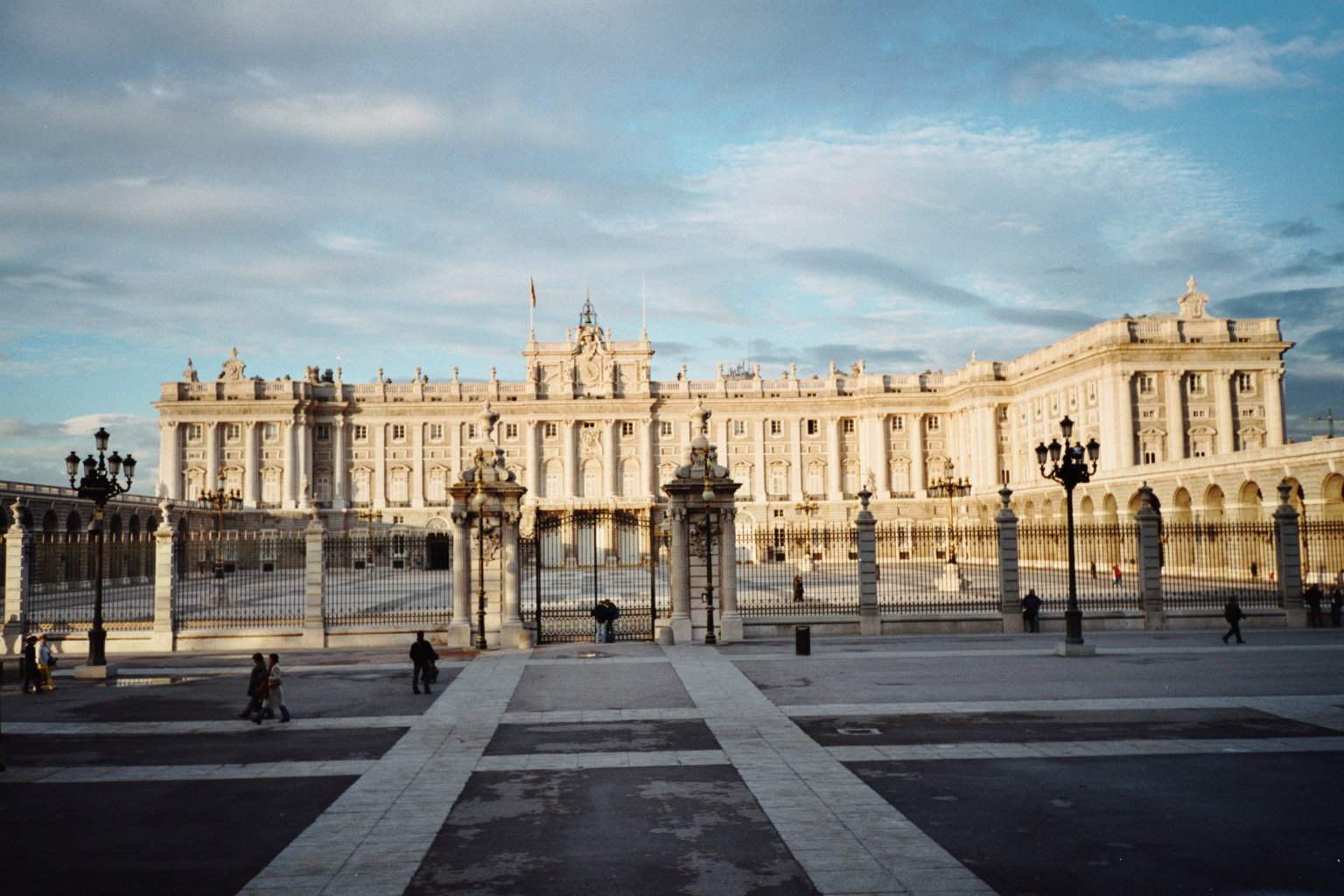 The royal palace. Madrid