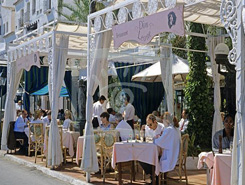 Restaurants sur le Port Banus