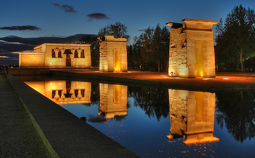 What to do in Madrid - Templo de debod. Madrid