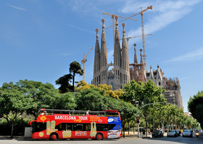 Barcelona City Tour : Hop-On Hop-Off Bus